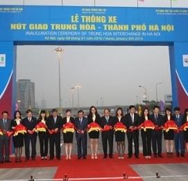 Lễ thông xe nút giao thông Trung Hoà - thành phố Hà Nội - VĨNH HƯNG JSC