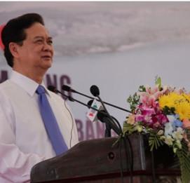 Thủ tướng Nguyễn Tấn Dũng phát lệnh khởi công cầu lớn nhất Việt Nam - VĨNH HƯNG JSC