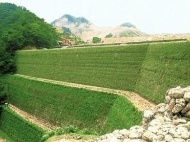 Tường chắn có cốt bản mặt rọ đá neo - VĨNH HƯNG JSC