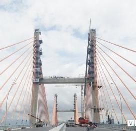 Hai tuần trước khi thông xe, cầu hơn 7.000 tỷ đồng nối - VĨNH HƯNG JSC