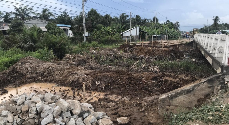 Dự án gói thầu XL06 quốc lộ 53, Long Toàn - Trà Vinh - VĨNH HƯNG JSC