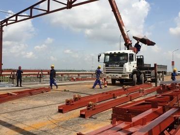 Vĩnh Hưng tham gia dự án 269 tỷ sửa chữa cầu Thăng Long - Vinh Hung JSC