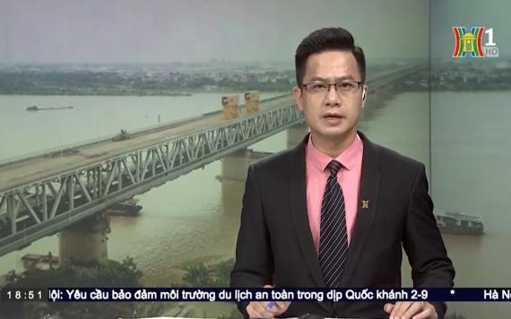 Phóng sự HanoiTV 1: Hoàn thành bước đầu sửa chữa mặt cầ - VĨNH HƯNG JSC