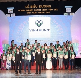 Vinh Hung wins the award ASEAN Typical Enterprises 2020 - Vinh Hung JSC