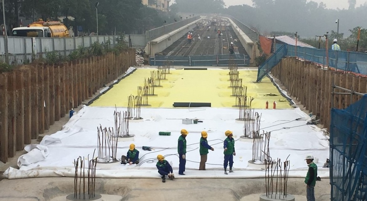 Waterproofing Project for Nhon – Ha Noi railway station - Vinh Hung JSC