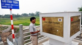 Dự án cầu Vĩnh Thịnh - VĨNH HƯNG JSC