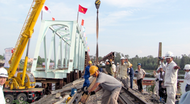 Dự án nâng cao an toàn cầu đường sắt tuyến Hà Nội – Hồ - VĨNH HƯNG JSC