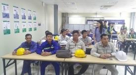 """Khóa đào tạo """"An toàn lao động, vệ sinh môi trường"""" dàn - VĨNH HƯNG JSC"""