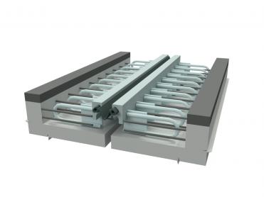 Steel strip - seal expansion joint - Vinh Hung JSC