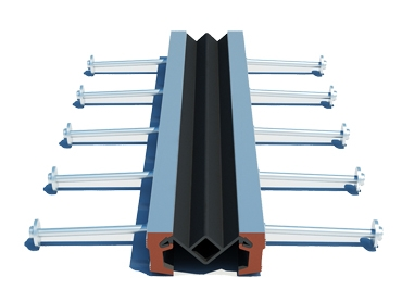 Aluminum – alloy strip-seal bridge joint - Vinh Hung JSC