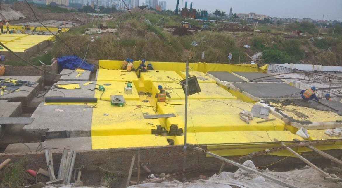 Waterproofing project of 34 apartments block 8 - The Ma - Vinh Hung JSC