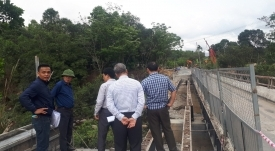 The Repairing and Reinforcing Project of bridges on hig - Vinh Hung JSC