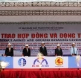 Gần 5.000 tỷ đồng xây nhà ga ngầm metro Bến Thành - VĨNH HƯNG JSC