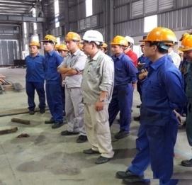Vĩnh Hưng IP tổ chức khóa đào tạo An toàn lao động tại nhà máy Vĩnh Hưng - Khu CN phố nối B - Hưng Y - VĨNH HƯNG JSC