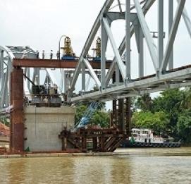Vĩnh Hưng tham gia cung cấp gối cầu cho dự án Cầu Ghềnh mới - VĨNH HƯNG JSC