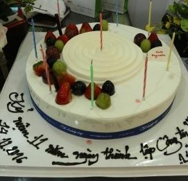 Vĩnh Hưng tổ chức sinh nhật 11 tuổi - VĨNH HƯNG JSC
