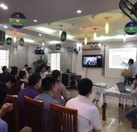 Vĩnh Hưng đào tạo  về sản phẩm chống thấm - VĨNH HƯNG JSC