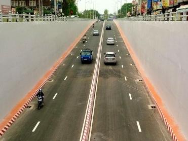 Dự án thi công chống thấm Hầm Tân Phong - VĨNH HƯNG JSC
