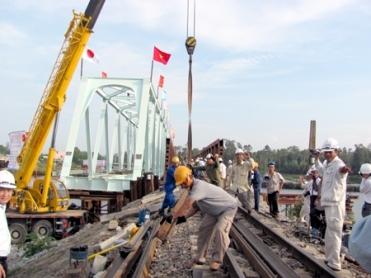 Dự án nâng cao an toàn cầu đường sắt tuyến Hà Nội – Hồ - Vinh Hung JSC
