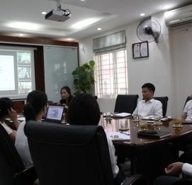 Cán bộ Vĩnh Hưng JSC tham gia buổi chia sẻ mô hình triể - VĨNH HƯNG JSC