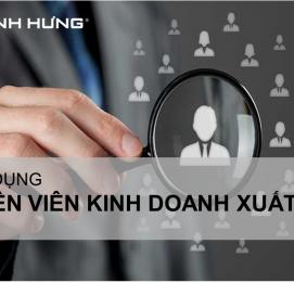 Vĩnh Hưng tuyển 01 Chuyên viên kinh doanh xuất khẩu - VĨNH HƯNG JSC