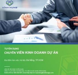 Tuyển dụng 04 Chuyên viên Kinh doanh Dự án Dân dụng - VĨNH HƯNG JSC